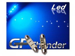 GP Thunder No Error 1039 6418 6423 Blue Canbus SMD 5050 LED Festoon Light Bulbs