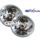"Pair of GP Xtreme 5"" 3/4 H4 Conversion Vision Headlight Seal Beam H6024"