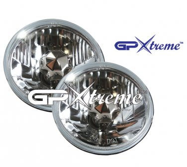 "Pair of GP Xtreme 5"" 3/4 H4 Conversion Vision Headlight Seal Beam H6024"