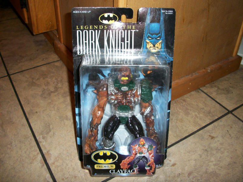 LEGENDS OF THE DARK KNIGHT PREMIUM CLAYFACE ACTION FIGURE 1998 KENNER HASBRO