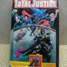 DC SUPERHEROES TOTAL JUSTICE FRACTAL ARMOR BATMAN 5 INCH SCALE ACTION FIGURE 1996 KENNER HASBRO