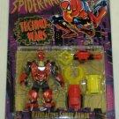 SPIDERMAN ANIMATED TECHNO WARS RADIOACTIVE SPIDER ARMOR SPIDERMAN ACTION FIGURE 1996 TOYBIZ