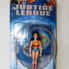 JUSTICE LEAGUE WONDER WOMAN ACTION FIGURE 2ND RELEASE 2003 MATTEL