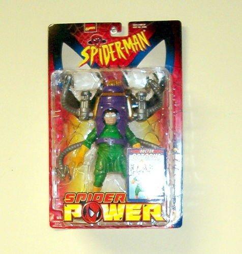 SPIDERMAN SPIDER POWER SERIES 2 DOCTOR OCTOPUS ACTION FIGURE W/ OCTOBOT 1999 TOYBIZ