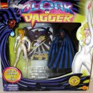 MARVEL COMICS LIMITED EDITION CLOAK & DAGGER ACTION FIGURE 2 PACK 1997 TOYBIZ