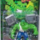 INCREDIBLE HULK SMASH & CRASH BATTLE DAMAGED HULK ACTION FIGURE 1997 TOYBIZ