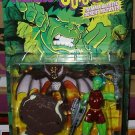 INCREDIBLE HULK OUTCASTS SERIES CHAINSAW ACTION FIGURE 1997 TOYBIZ
