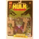 INCREDIBLE HULK RAMPAGING HULK ACTION FIGURE W/ COLLAPSING BRICK WALL 1996 TOYBIZ