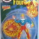 FANTASTIC FOUR ANIMATED SERIES HUMAN TORCH ACTION FIGURE 1996 TOYBIZ