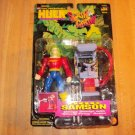 INCREDIBLE HULK SMASH & CRASH DOC SAMSON ACTION FIGURE 1997 TOYBIZ