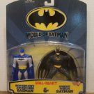 BATMAN WALMART EXCLUSIVE WORLD OF BATMAN ACTION FIGURE 2 PACK 1999 HASBRO