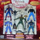 SPIDERMAN SPECIAL COLLECTOR EDITION SPIDER & THE SCARECROW ACTION FIGURE 5 PACK 1998 TOYBIZ