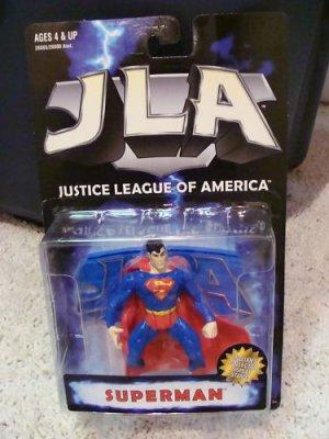 JLA JUSTICE LEAGUE OF AMERICA SUPERMAN ACTION FIGURE 1998 HASBRO