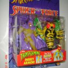 SPIDERMAN SPIDER FORCE SWARM ACTION FIGURE 1997 TOYBIZ