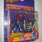 SPIDERMAN SPIDER FORCE CYBERSECT SPIDERMAN ACTION FIGURE 1997 TOYBIZ