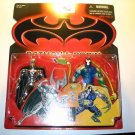 BATMAN & ROBIN MOVIE BRAIN VS BRAWN BATMAN & BANE ACTION FIGURE 2 PACK 1997 KENNER HASBRO