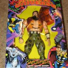 MARVEL UNIVERSE 10 INCH SAVAGE FORCE JUNGLE HUNTER KRAVEN ACTION FIGURE 1998 TOYBIZ