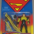 SUPERMAN MAN OF STEEL CONDUIT ACTION FIGURE 1995 KENNER HASBRO