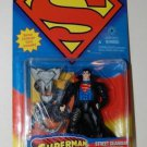 SUPERMAN MAN OF STEEL STREET GUARDIAN SUPERMAN ACTION FIGURE 1995 KENNER HASBRO