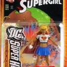 SUPERMAN DC SUPERHEROES SUPERGIRL ACTION FIGURE WITH COMIC 2006 MATTEL SELECT SCULPT