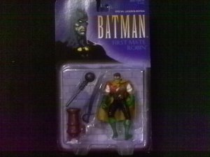 LEGENDS OF BATMAN SPECIAL WARNER BROS EDITION FIRST MATE ROBIN ACTION FIGURE 1997 KENNER HASBRO