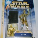 STAR WARS SAGA A NEW HOPE ANH DEATH STAR RESCUE C-3PO ACTION FIGURE