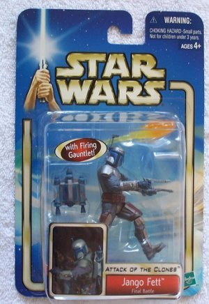 STAR WARS SAGA ATTACK OF THE CLONES AOTC JANGO FETT FINAL BATTLE ACTION FIGURE