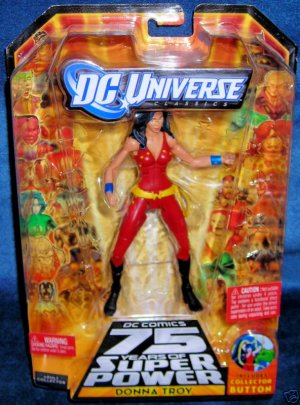 DC UNIVERSE CLASSICS DONNA TROY ACTION FIGURE TRIGON SERIES WAVE 13 MATTEL BRAND NEW UNOPENED