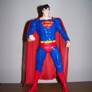 "SUPERMAN 13"" WB WARNER BROTHERS STORE VINYL PLASTIC ACTION FIGURE STATUE MAN OF STEEL DC SUPERHEROES"