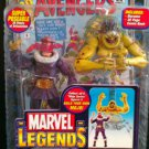 MARVEL LEGENDS MOJO SERIES WAVE 14 BARON ZEMO STANDARD MASKED ACTION FIGURE 2006 TOYBIZ