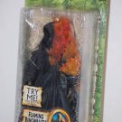 LORD OF THE RINGS FLAMING RINGWRAITH ACTION FIGURE TOYBIZ 2005