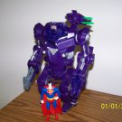 SUPERMAN MAN OF STEEL LOOSE KRYPTONIAN BATTLE SUIT W/ SUPERMAN FIGURE 1995 KENNER HASBRO