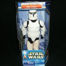 STAR WARS ATTACK OF THE CLONES CLONE TROOPER 12 INCH POSEABLE ACTION FIGURE 2002 HASBRO