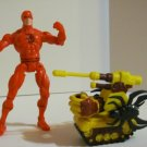 SPIDERMAN WEB FORCE LOOSE TANK ATTACK DAREDEVIL ACTION FIGURE 1997 TOYBIZ