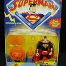 SUPERMAN ANIMATED DELUXE VISION BLAST SUPERMAN ACTION FIGURE 1996 KENNER HASBRO