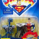 SUPERMAN ANIMATED DELUXE ULTRA SHIELD SUPERMAN ACTION FIGURE 1998 KENNER HASBRO