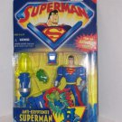 SUPERMAN ANIMATED ANTI-KRYPTONITE SUPERMAN ACTION FIGURE 2001 KENNER HASBRO