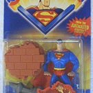 SUPERMAN ANIMATED STRONG ARM SUPERMAN ACTION FIGURE 2001 KENNER HASBRO