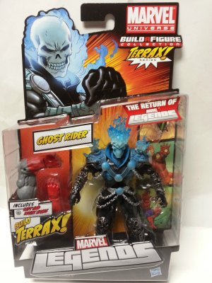 MARVEL LEGENDS TERRAX SERIES WAVE 1 BLUE FLAME GHOST RIDER ACTION FIGURE 2012 HASBRO UNOPENED