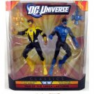 DC UNIVERSE CLASSICS YELLOW HAL JORDAN BLUE KYLE RAYNER ACTION FIGURE 2 PACK 2012 MATTEL