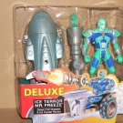 BATMAN & ROBIN MOVIE LOOSE DELUXE ICE TERROR MR FREEZE ACTION FIGURE 1997 KENNER HASBRO