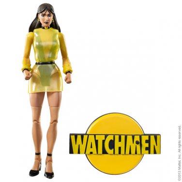 WATCHMEN EXCLUSIVE CLUB BLACK FREIGHTER SILK SPECTRE II FIGURE MATTEL 2013 DC UNIVERSE CLASSICS