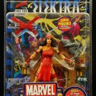 MARVEL LEGENDS SERIES WAVE 4 ELEKTRA FIGURE W/ DISPLAY STAND BASE WALL MOUNT & COMIC BOOK TOYBIZ