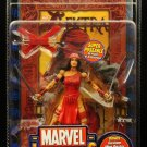 MARVEL LEGENDS SERIES WAVE 4 ELEKTRA FIGURE W/ DISPLAY STAND BASE WALL MOUNT FOIL VARIANT TOYBIZ