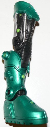 DC UNIVERSE GREEN LANTERN CLASSICS LOOSE STEL RIGHT LEG BUILD A FIGURE PIECE ONLY SERIES 2 MATTEL