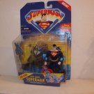 SUPERMAN ANIMATED DELUXE LOOSE CITY CAMO SUPERMAN ACTION FIGURE 1998 KENNER HASBRO