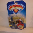 SUPERMAN ANIMATED DELUXE LOOSE ULTRA SHIELD SUPERMAN ACTION FIGURE 1998 KENNER HASBRO