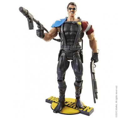 WATCHMEN EXCLUSIVE CLUB BLACK FREIGHTER THE COMEDIAN FIGURE MATTEL 2013 DC UNIVERSE CLASSICS