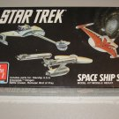 STAR TREK 1989 AMT ERTL 3 SPACE SHIP SET MODEL KIT SEALED 6677 CLASSIC STARSHIPS ENTERPRISE KLINGON