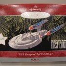 STAR TREK 1998 HALLMARK KEEPSAKE CHRISTMAS ORNAMENT U.S.S. ENTERPRISE NCC-1701-E FIRST CONTACT